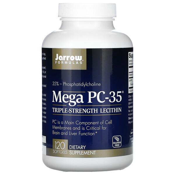 Jarrow Formulas, Mega PC-35, 120мягких таблеток