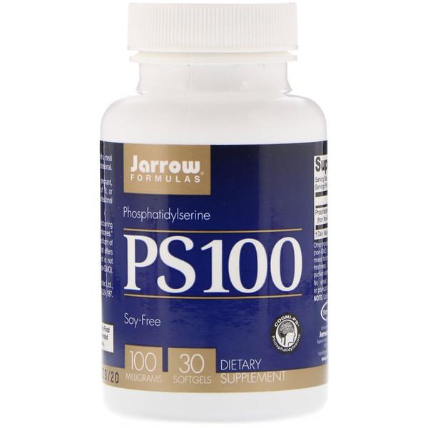 PS 100, Phosphatidylserine, 100 mg, 30 Softgels