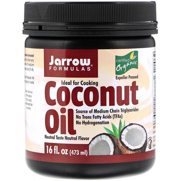 Органическое кокосовое масло, 473г