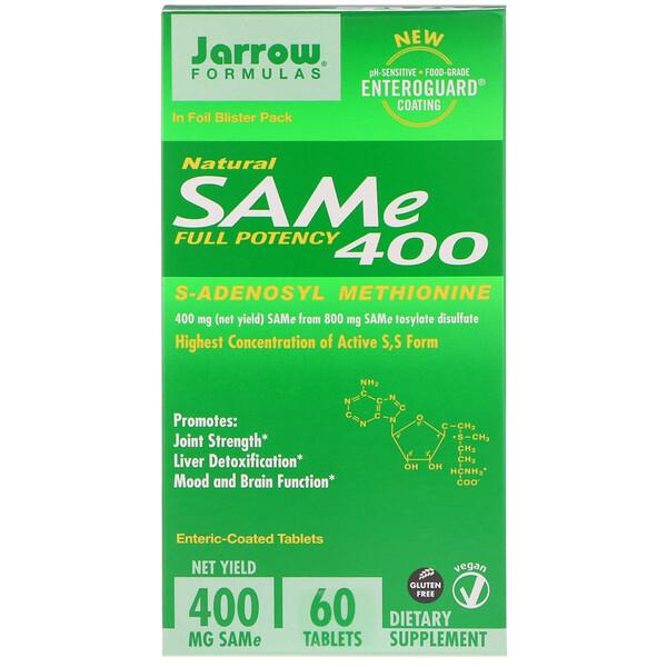 SAM-e (S-аденозил-L-метионин ) 400, 60 таблеток