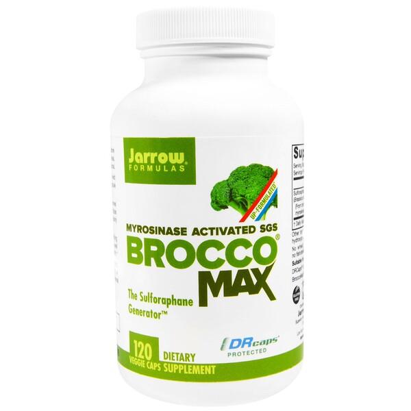 Jarrow Formulas, BroccoMax, 120 капсул в растительной оболочке