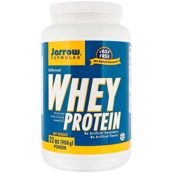 Cывороточный протеин, Без ароматизаторов, 32 унц. (908 г)