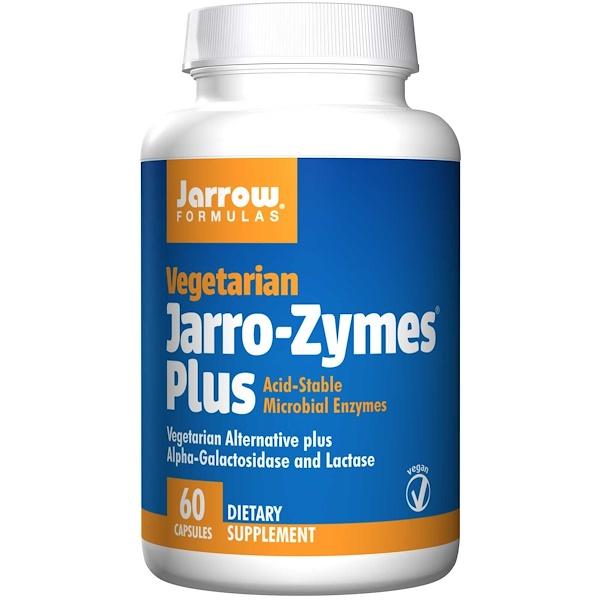 Jarro-Zymes Plus, вегетарианский, 60 капсул