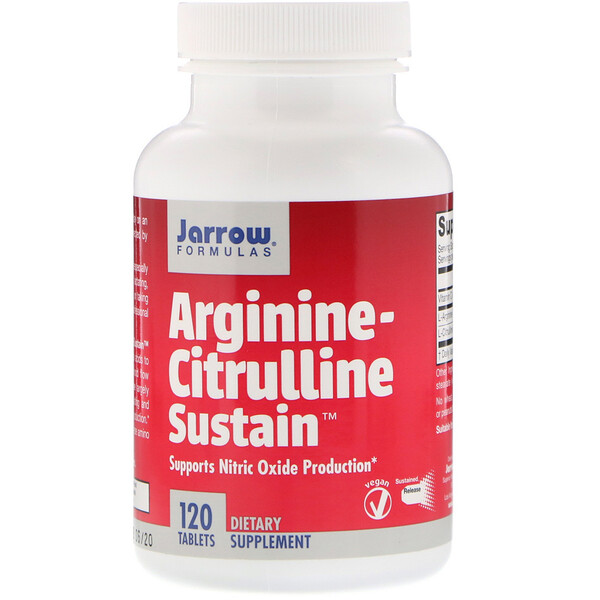 Arginine-Citrulline Sustain, 120таблеток