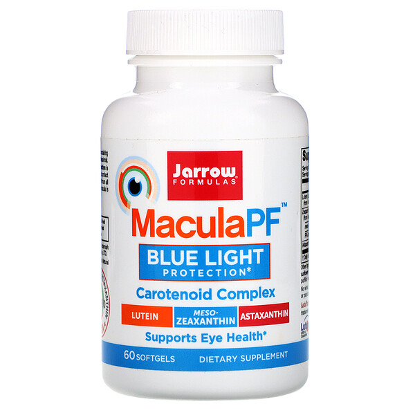 MaculaPF Blue Light Protection,  60 Softgels
