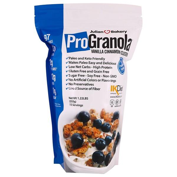 Pro Granola, ваниль и корица, 1,22 фунта (555 г)
