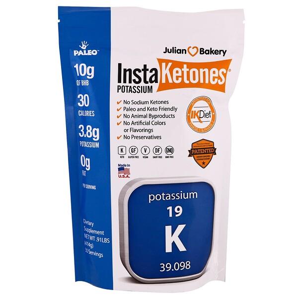 Калий InstaKetones, 0,91 фунта (414 г)