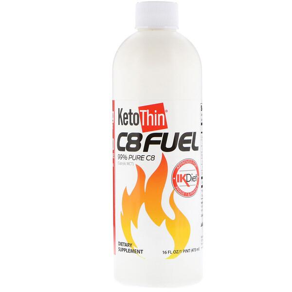 KetoThin C8 Fuel, 473 мл