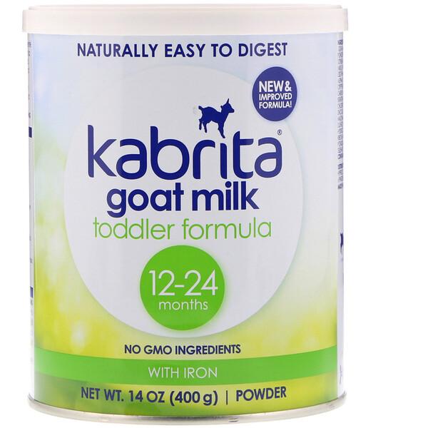 Kabrita, Смесь для малышей из козьего молока с железом, 14 унций (400 г) порошка (Discontinued Item)