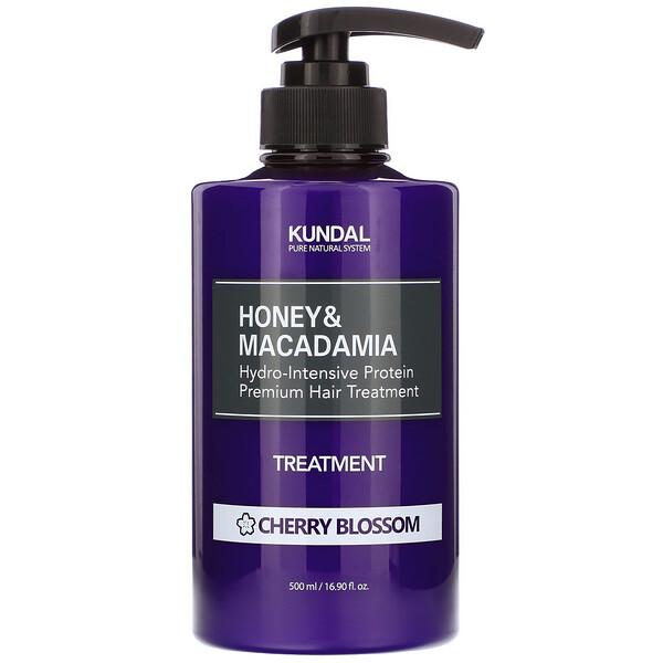 Honey & Macadamia, Treatment, Cherry Blossom, 16.90 fl oz (500 ml)