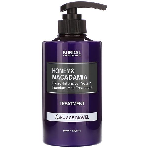 Kundal, Honey & Macadamia, Treatment, Fuzzy Navel, 16.90 fl oz (500 ml) (Discontinued Item)