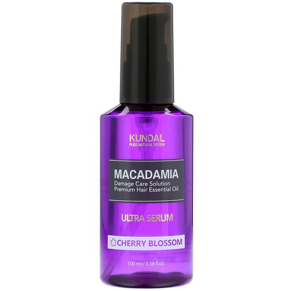 Macadamia, Ultra Serum, Cherry Blossom, 3.4 fl oz (100 ml)