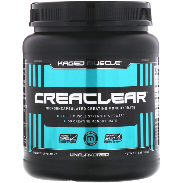 Creaclear, без ароматизаторов, 1,1 ф. (500 г)