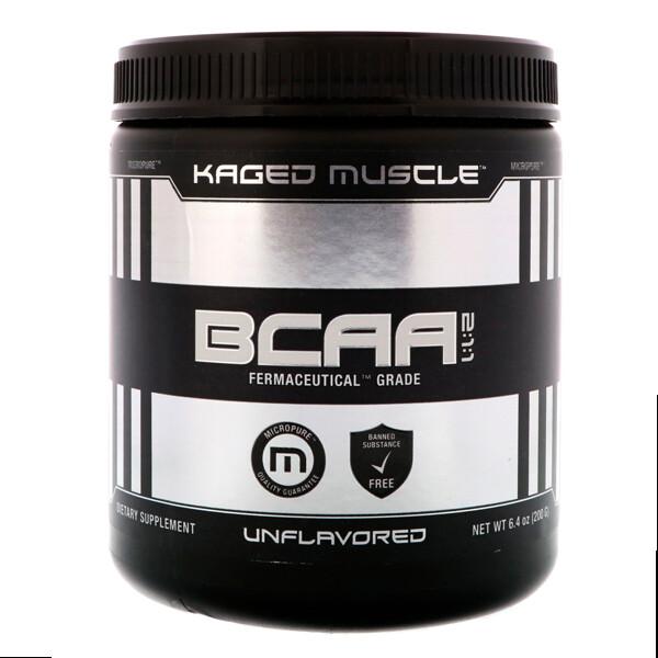 Kaged Muscle, Аминокислоты с разветвлённой цепью, без ароматизаторов, 6,4 унц. (200 г) (Discontinued Item)