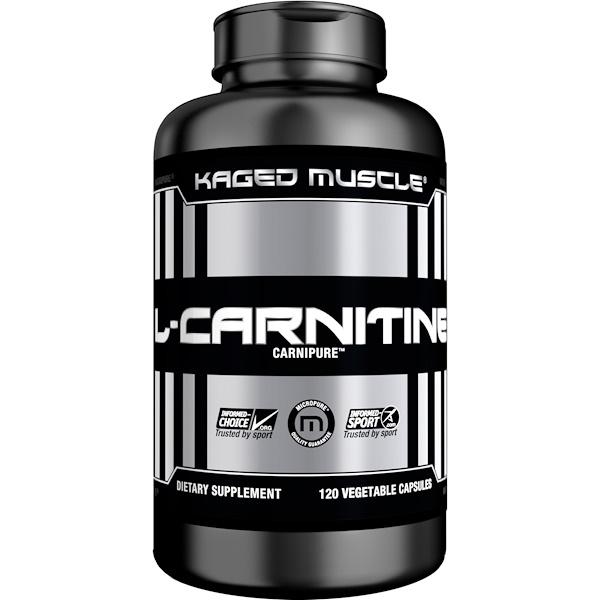 L-карнитин, 120 вегетарианских капсул