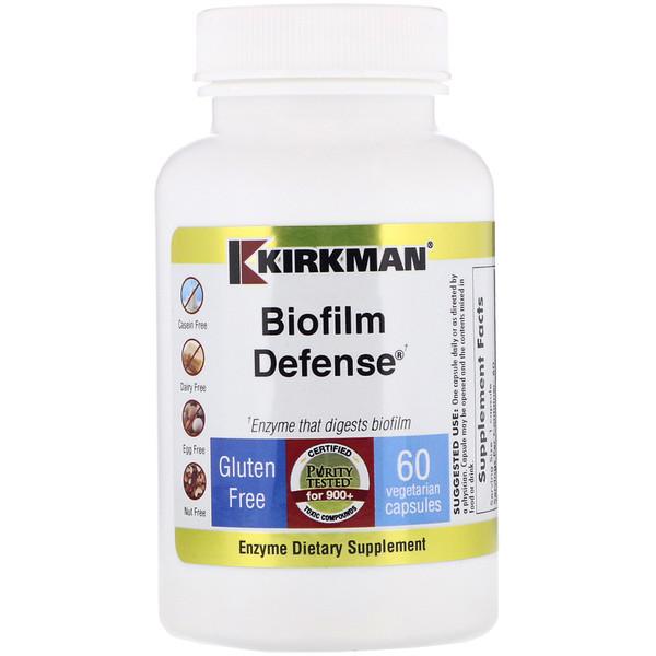 Kirkman Labs, Biofilm Defense, 60растительных капсул (Discontinued Item)