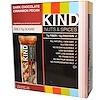 """KIND Bars, """"Орехи со специями"""", с темным шоколадом, корицей и пеканом, 12 батончиков, 1.4 унций (40 г)"""