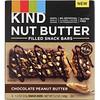 KIND Bars, Батончики для закуски с ореховым маслом, шоколадно-арахисовое масло, 4 батончика, по 1,3 унции (37 г) каждый