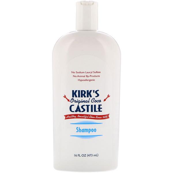 Kirk's, Оригинальный шампунь Коко Кастилии 16 жидких унции (473 мл) (Discontinued Item)