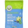 Kuli Kuli, Зеленое смузи из органической моринги с растительным белком, со вкусом ванили, 224г