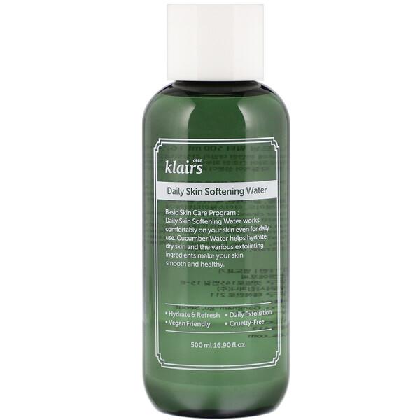 Daily Skin Softening Water, 16.90 fl oz (500 ml)