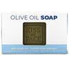 Kiss My Face, Мыло с чистым оливковым маслом, без отдушек, 8 унций (230 г)