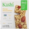 Kashi, Батончики Chewy Granola Bars, Honey Almond Flax, 6 батончиков, 35 г каждый