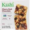 Kashi, Вкусные жевательные батончики с темным шоколадом со вкусом вишни, 6-2шт, 1.2 унций (35 г)
