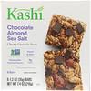 Kashi, Жевательные батончики с гранолой, шоколад, миндаль и морская соль, 6 батончиков, 1,2 унц. (35 г) каждый