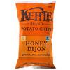 Kettle Foods, Картофельные чипсы, мед и дижонская горчица, 5 унц. (141 г)