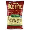 Kettle Foods, Органические картофельные чипсы, барбекю в стиле кантри, 5 унций (142 г)