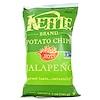 Kettle Foods, Картофельные чипсы, острые! халапеньо, 142 г (5 унций)