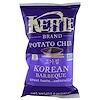 Kettle Foods, Картофельные чипсы, корейское барбекю, 5 унций (142 г)