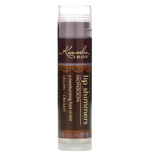 Lip Shimmers, Monsoon, 0.15 oz (4.25 g)