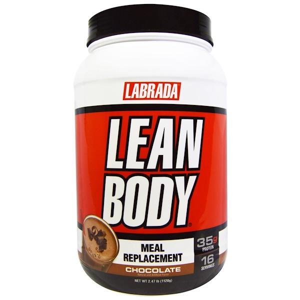 Lean Body, заменитель пищи, со вкусом шоколада, 2,47 фунта (1120 г)