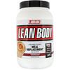 Labrada Nutrition, Коктейль с высоким содержанием белка Lean Body, заменитель пищи, вкус булочки с корицей, 2,47 ф. (1120 г)