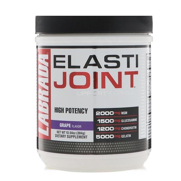 ElastiJoint, формула для поддержки суставов со вкусом винограда, 384 г (13,54 унции)