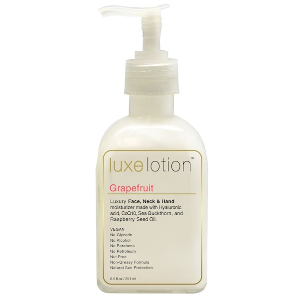 Luxe Lotion, Luxury Face, Body, & Hand Moisturizer, Grapefruit, 8.5 fl oz (251 ml)