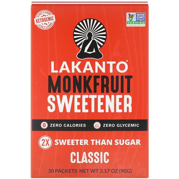 Monkfruit Sweentener, Classic, 3.17 oz (90 g)