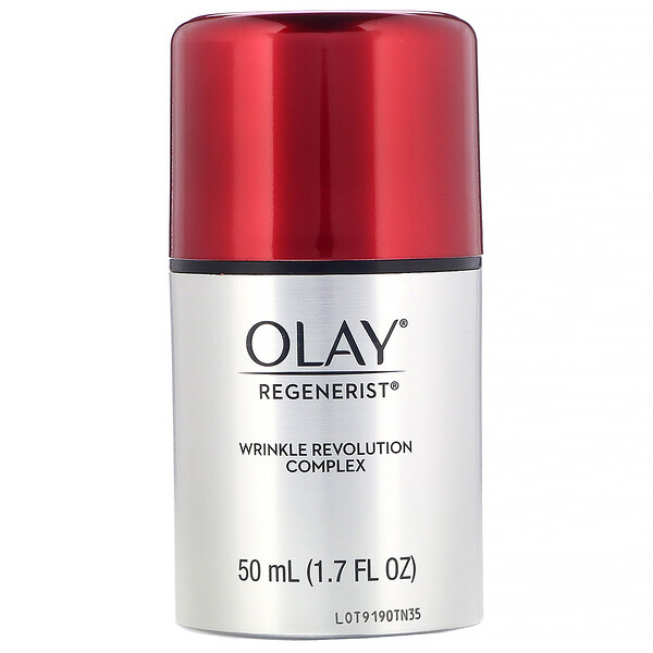 Olay, Regenerist, Wrinkle Revolution Complex, Advanced Anti-Aging Moisturizer, 1.7 fl oz (50 ml) (Discontinued Item)