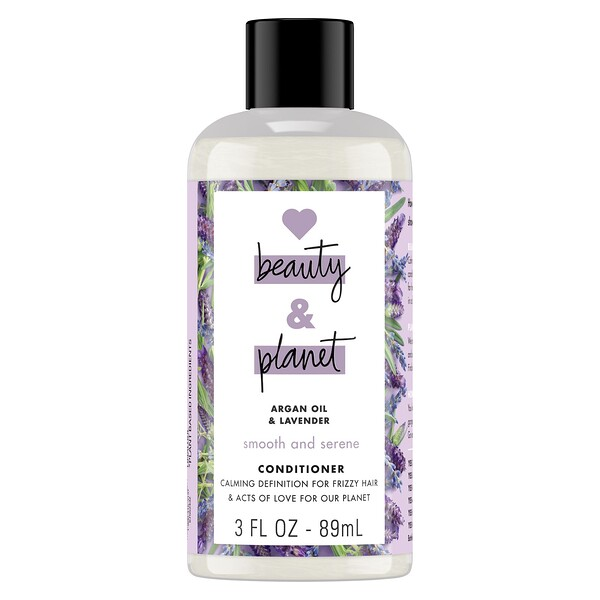 Smooth and Serene Conditioner, Argan Oil & Lavender, 3 fl oz (89 ml)