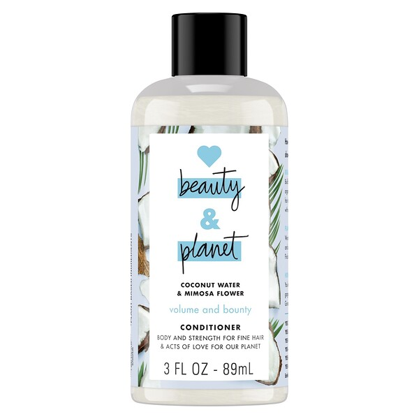 Volume and Bounty Conditioner, Coconut Water & Mimosa Flower, 3 fl oz (89 ml)