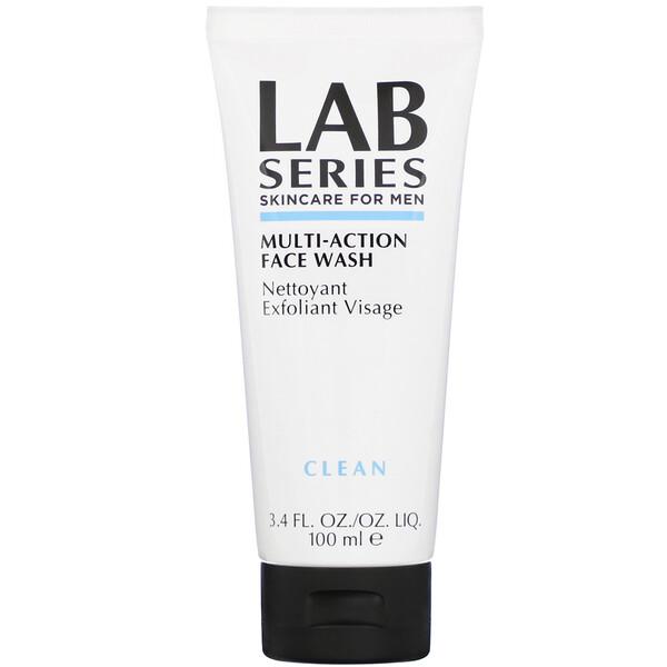 Multi-Action, Face Wash, Clean, 3.4 fl oz (100 ml)