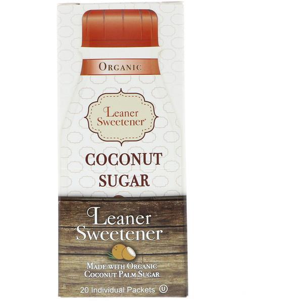 Organic, Coconut Sugar, 20 Individual Packets, 0.14 oz (4 g) Each
