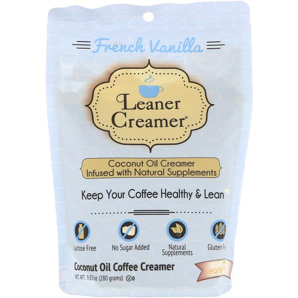 Заменитель сливок для кофе из кокосового масла, французская ваниль, 280г