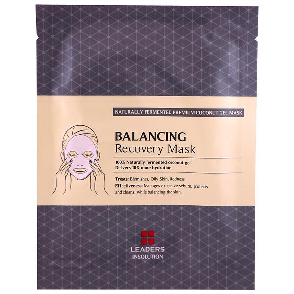 Coconut Gel Balancing Recovery Mask, 1 Sheet, 30 ml