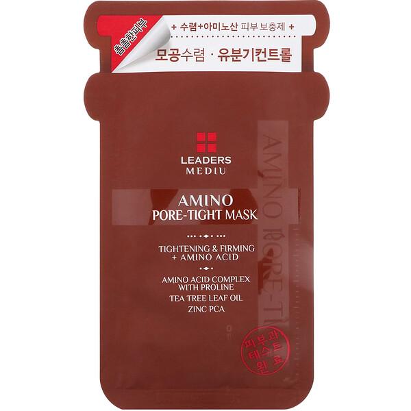 Mediu, Amino Pore-Tight Mask, 1 Sheet, 25 ml