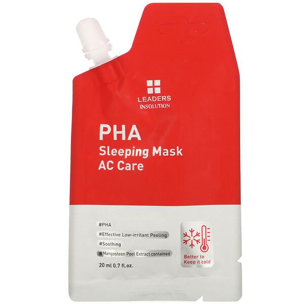 PHA Sleeping Mask, AC Care, 0.7 fl oz (20 ml)
