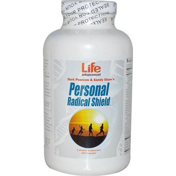 Дерк Пирсон и Сэнди Шоу, Personal Radical Shield, 336 капсул