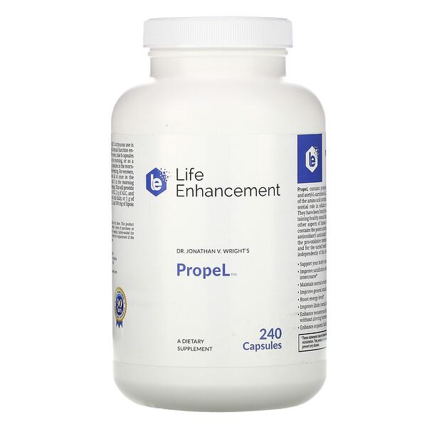 Life Enhancement, Propel, 240 капсул